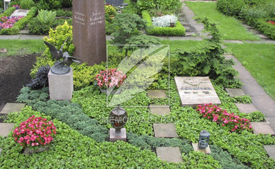 Растения которые сажают на кладбище 460
