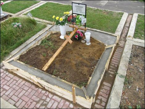 Установка памятников на кладбище сонник памятник из мрамора